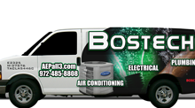 Bostech - air conditioning, electrical, plumbing - Dallas, Garland, Rowlett, Highland Park, University Park, Sachse, Richardson, Plano